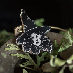 The Witch Enamel Pin