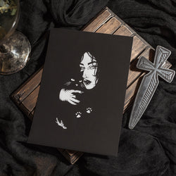 All Black Everything Art Print