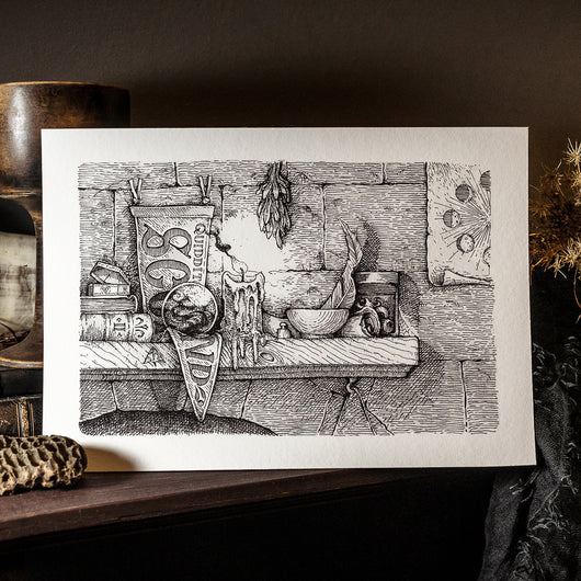 Occult Studies Art Print