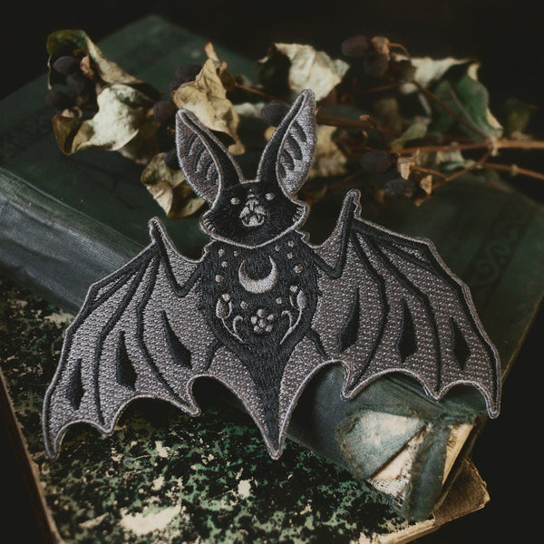 Bat Embroidered Patch