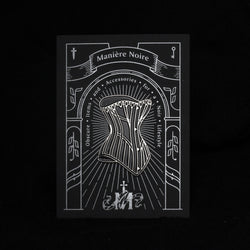 The Corset Enamel Pin