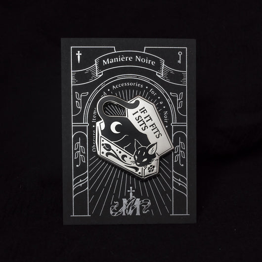 Night creatures - The Cat Enamel Pin - Wholesale