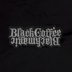 Black Coffee / Black Magic embroidered patch - Wholesale