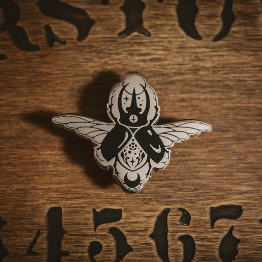 Night creatures - The Scarab Enamel Pin - Wholesale