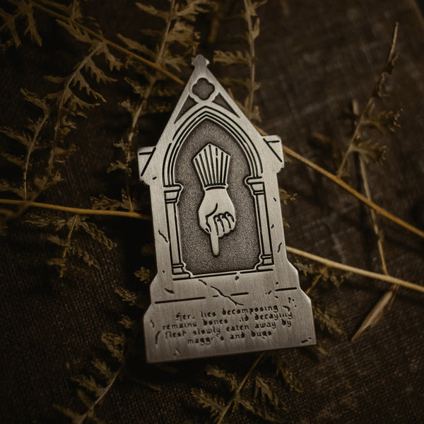 The Tombstone I Enamel Pin