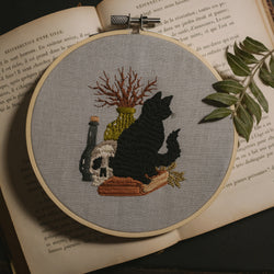 The Black Cat Embroidery