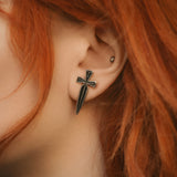 Small Dagger Stud Earrings
