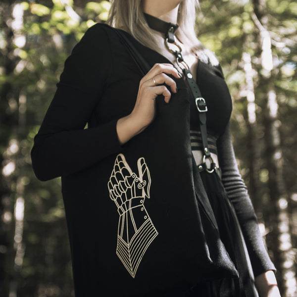 The Maiden & The Knight Tote Bag - Seconds