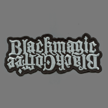 Black Coffee / Black Magic embroidered patch