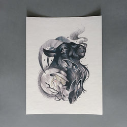 The VVitch Art Print