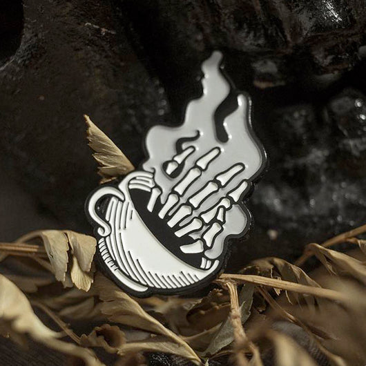 Wake up the Dead Enamel Pin
