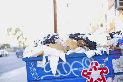 Fabric waste in LA