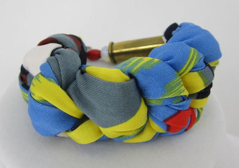 Braided Fabric Bracelet - Primary - Big