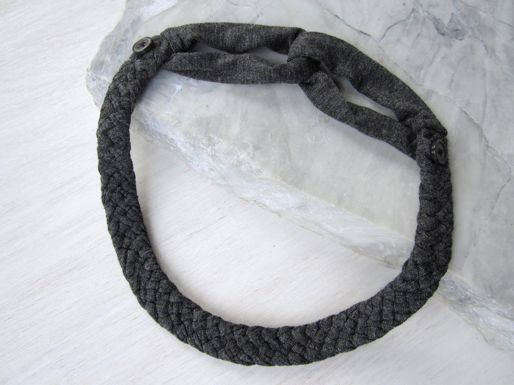 The Adjustable Button Band – Charcoal