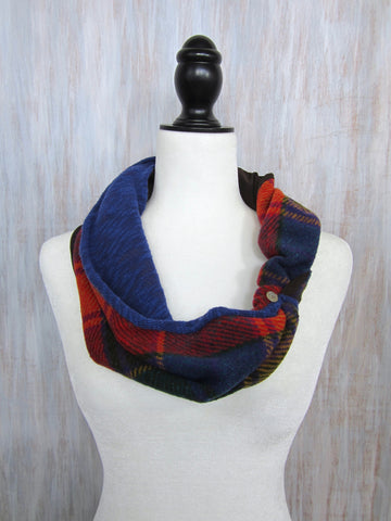 The Twist Infinity Scarf – Enchanted Forest