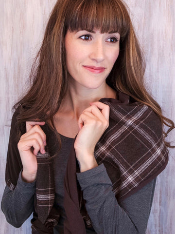 The Twist Infinity Scarf – CoaCoa Allure