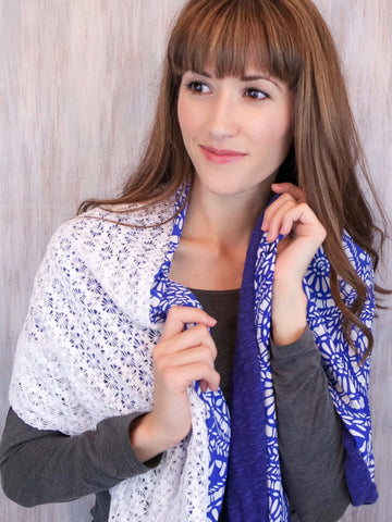 The Twist Infinity Scarf – Mosaic Isles