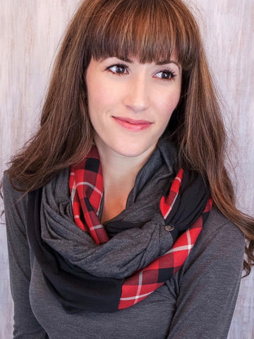 The Twist Infinity Scarf – Lumber Chic