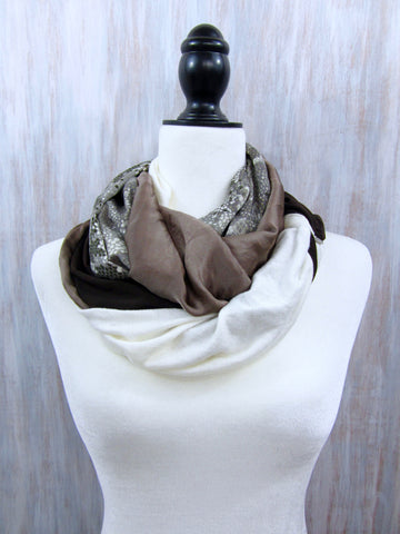 The Twist Infinity Scarf – Simply Charmed