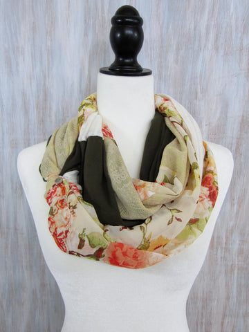 The Twist Infinity Scarf – Vintage Romance