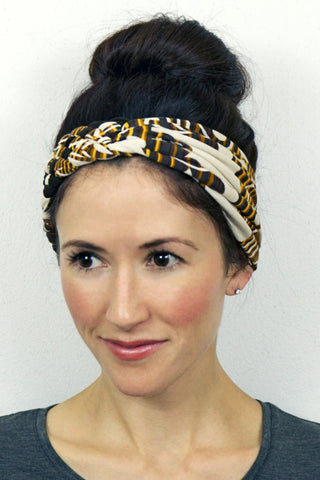 Big Braided Headband – Maple Tree