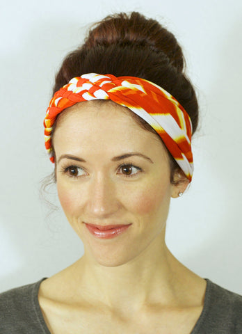 Big Braided Headband – Sunburst