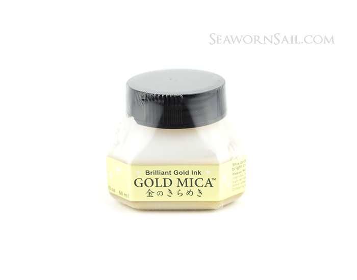 Kuretake Mica Ink - Gold