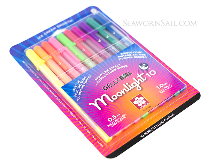 Sakura Gelly Roll Moonlight 10 Gel Pens