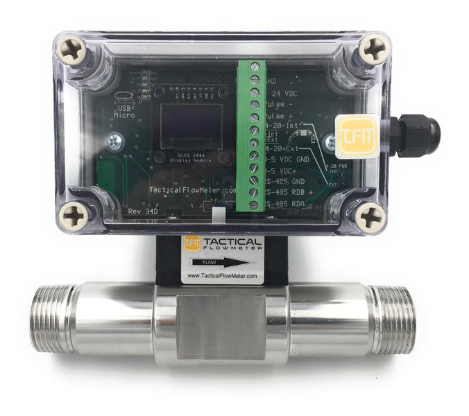 Why a smartphone to configure a Mass Flow Meter