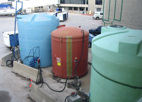 Nitrogen Tank Blanketing with Thermal Mass Flow Meter