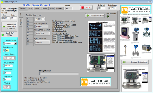 ModBus Simple Executable Download