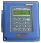 Ultrasonic Liquid Flow Meter with Thermal Energy/BTU Capability