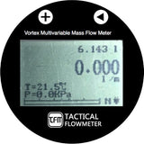 "1/2"" to 4"" Multivariable Vortex Mass Flow Meter."