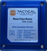"Methane and Natural Gas Mass Flow Meter 1/2"" to 2"" NPT"