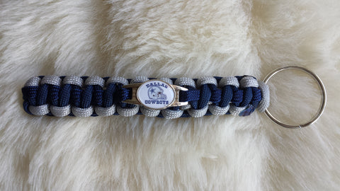 NFL DALLAS COWBOYS PARACORD KEYCHAIN