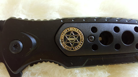 SHERIFF'S RESCUE Knife-New