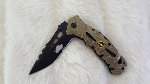 ARMY TACTICAL RESCUE KNIFE
