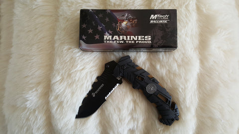 MARINES TACTICAL SURVIVAL KNIFE