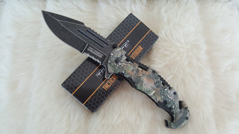 CAMO TACTICAL Rescue Knife-New