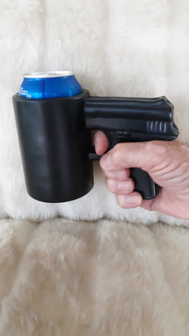 PISTOL CAN/BOTTLE COOLER