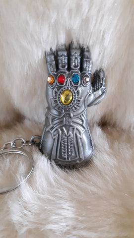 NEW MARVEL AVENGERS THANOS 3D KEYCHAIN