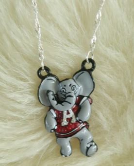 "ALABAMA ""BIG AL"" CRIMSON TIDE NECKLACE"