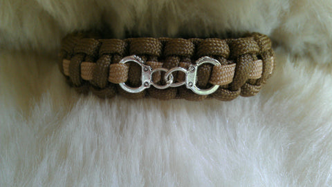 SHERIFF PARACORD BRACELET-HANDCUFFS