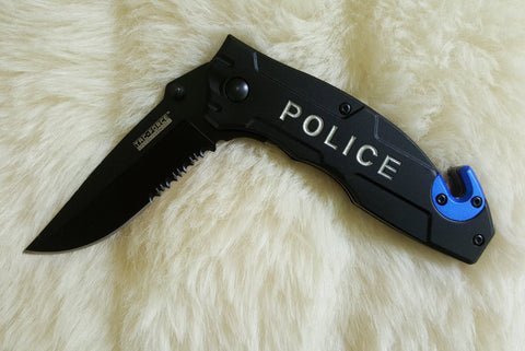 POLICE TACTICAL Rescue Knife-New