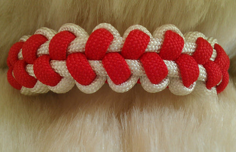 Baseball Stitch Paracord Bracelet