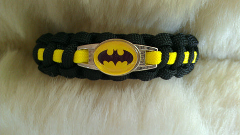 BATMAN PARACORD BRACELET