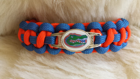 NCAA Florida Gators Paracord Bracelet