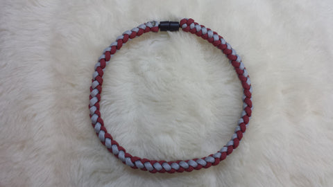 ALABAMA ROPE BRAID (Thick 4 Strand) Paracord Necklace