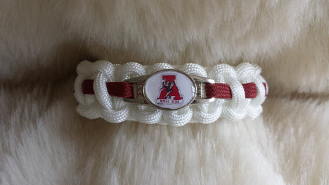 ALABAMA PARACORD BRACELET-Choose size