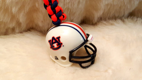 AUBURN Football Helmet Paracord Keychain-NEW